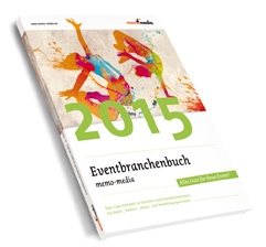 memo-media Cover Eventbranchenbuch memo-media 2015