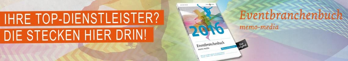Die Eventbranche kompakt im Eventbranchenbuch 2016